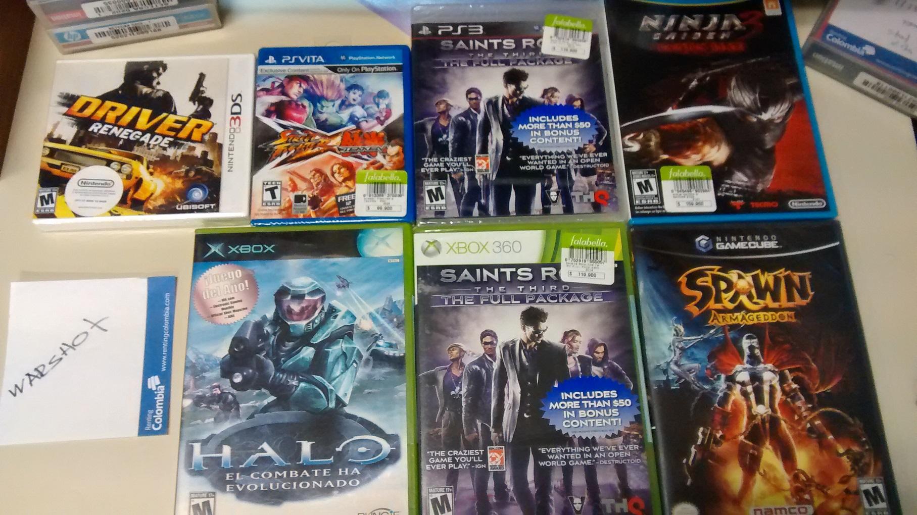 Juegos De Xbox 360 Ps3 3ds Vita Gamecube Nuevos Sellados