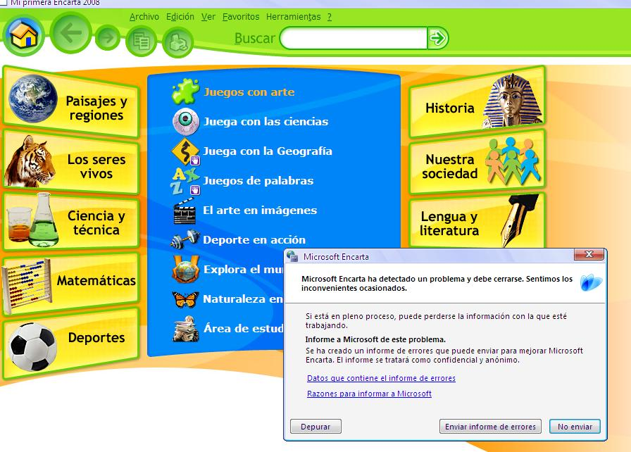 encarta junior 2008