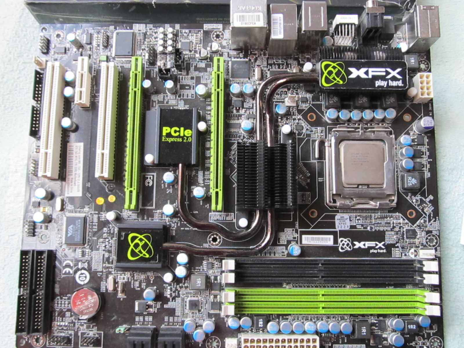 xfx nforce 750i sli motherboard manual